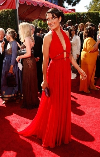 Lisa Edelstien at the emmys