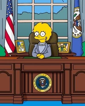 Lisa Simpson 壁紙 entitled Lisa President