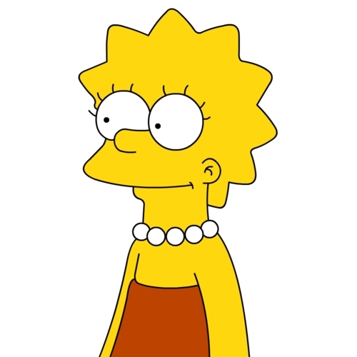 Lisa Simpson achtergrond titled Lisa