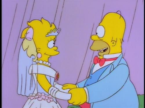Lisa Simpson wallpaper called Lisa's Wedding