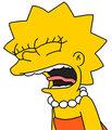 Lisa simpson angry