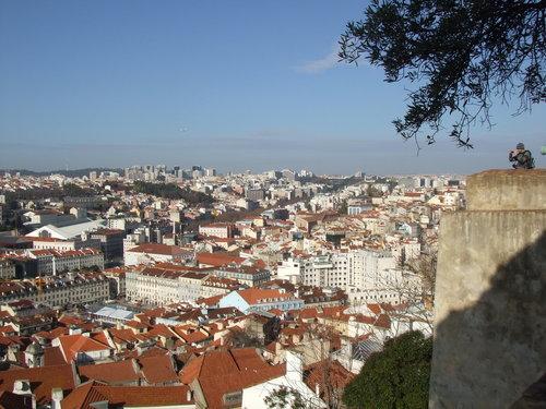 Portugal karatasi la kupamba ukuta titled Lisbon