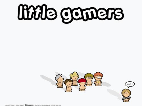 Little Gamers 壁紙