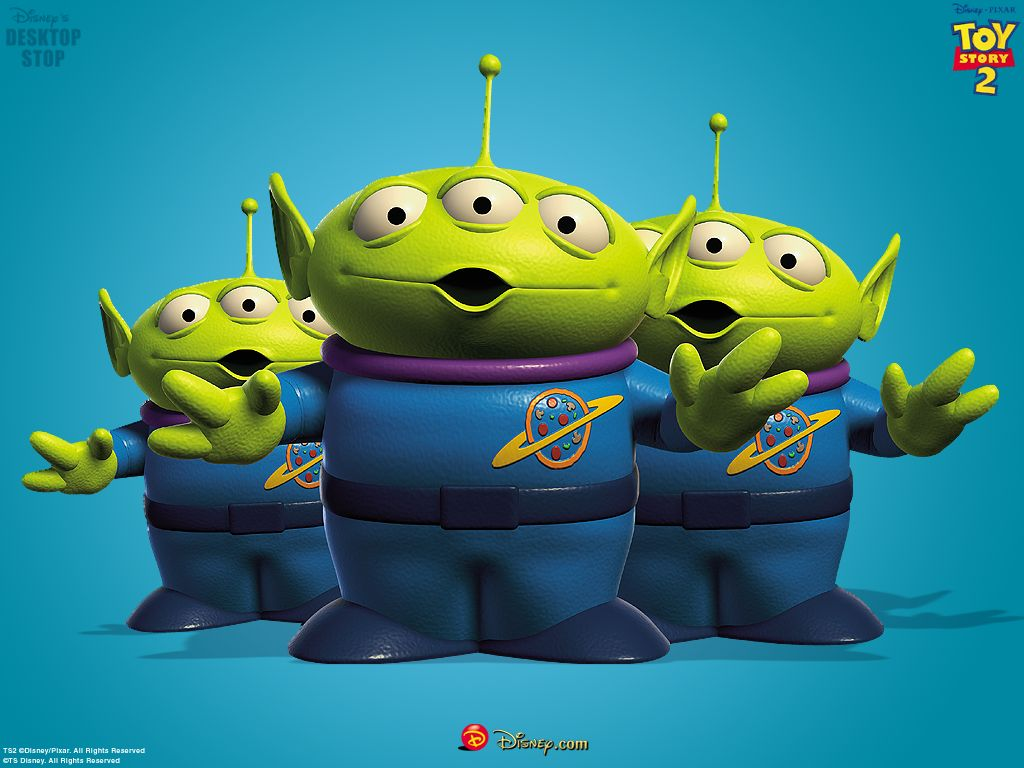 Little Green Men - Toy Story 1024x768 800x600