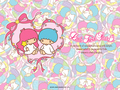 Little Twin Stars - sanrio wallpaper