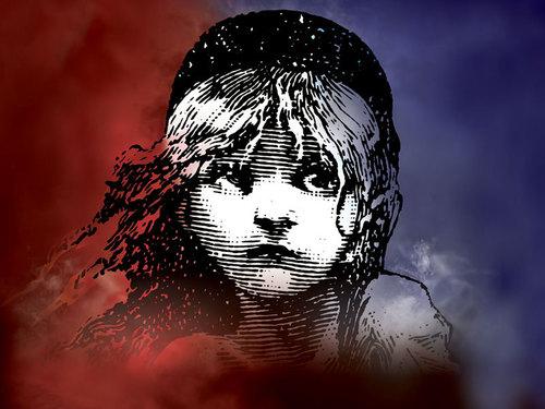 Les Miserables wolpeyper titled Logo