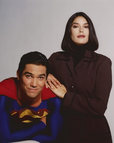 Lois and Clark Hintergrund titled Lois and Clark