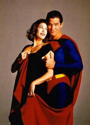 Lois and সুপারম্যান