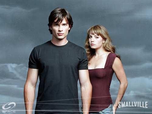 Lois and Clark - smallville Wallpaper