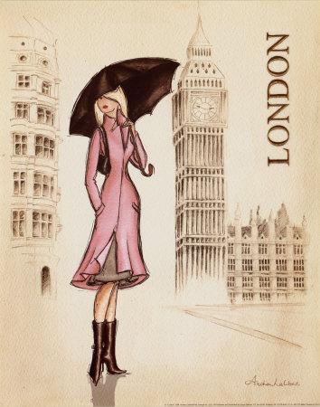 লন্ডন Print