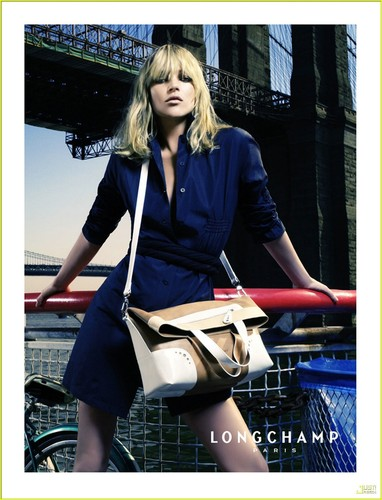 Kate Moss wallpaper titled Longchamp Ad