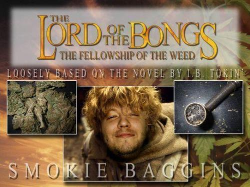 Marijuana wallpaper called Lord of the Bongs