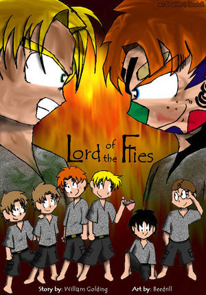 Lord of the Flies দেওয়ালপত্র titled Lord of the Flies