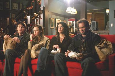 Lorelai & Rory & Luke & Dean