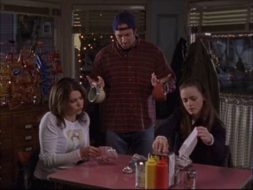 Lorelai & Rory & Luke - gilmore-girls Screencap