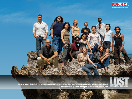 Lost Cast for AXN - lost Wallpaper