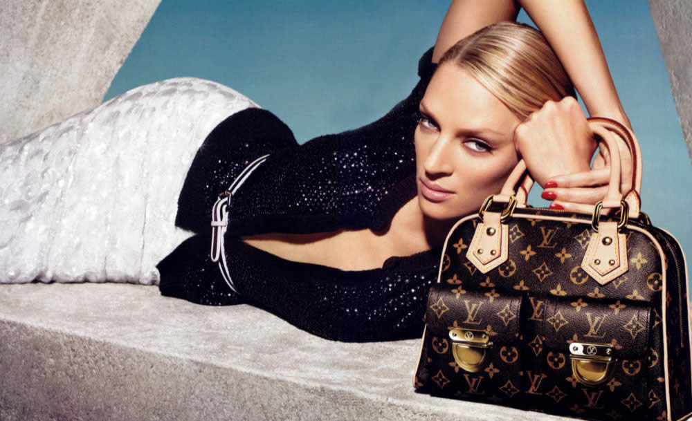 Louis Vuitton AD w/Uma Thurman - Uma Thurman Photo (144153) - Fanpop ...