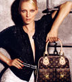 Louis Vuitton AD w/Uma Thurman