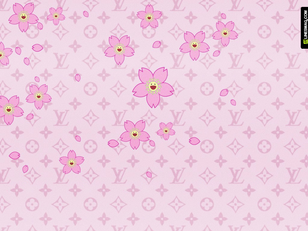 Louis Vuitton Logo Wallpaper Pink Louis Vuitton Louis Vuitton