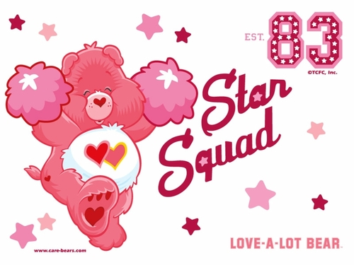 Love-A-Lot Bear ~ Care Bears - care-bears Wallpaper