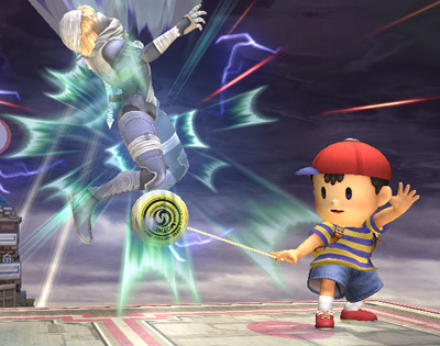 Super Smash Bros. Brawl 바탕화면 titled Lucas/Ness Comparison
