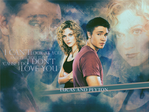 Lucas and Peyton (One 木, ツリー Hil