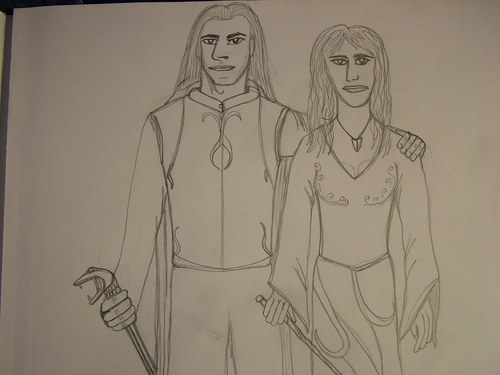 Lucius and Narcissa - lucius-malfoy Fan Art