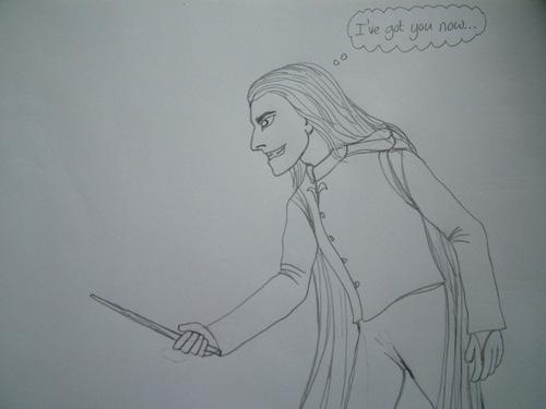 Lucius duelling