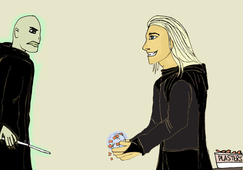 Lucius fixes the Prophecy