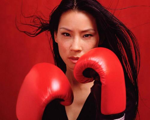 লুসি লিউ দেওয়ালপত্র called Lucy Liu