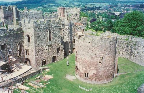 Ludlow замок - Wales