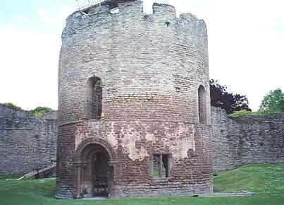 Ludlow istana, castle - Wales