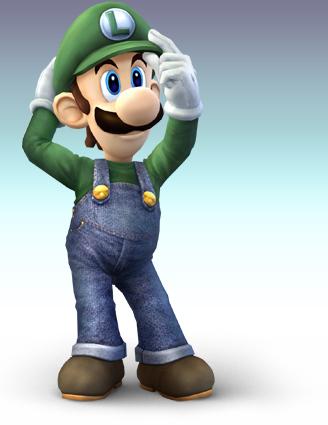 Une image de Luigi qui s'apprête à faire son workout