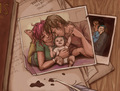 Lupin, Tonks and Teddy - tonks-and-lupin fan art