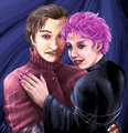 Lupin and Tonks Fan Art - tonks-and-lupin fan art