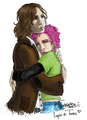 Lupin and Tonks Fan Art
