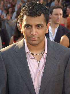 M. Night Shyamalan in crowd