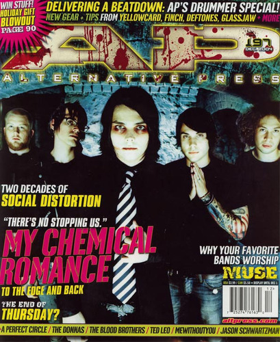 MCR on AP Magazine Cover