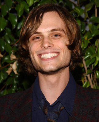 matthew gray gubler puppy. puppies and a very fat,