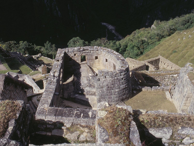 マチュピチュ 建物跡 遺跡の壁紙