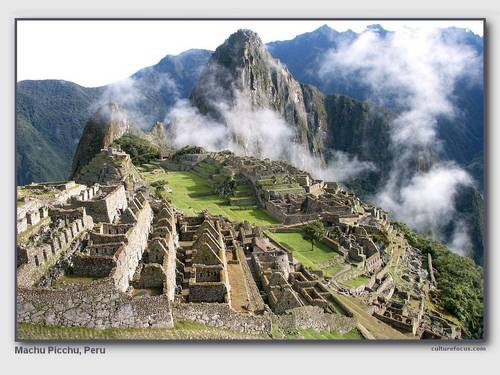 Machu Picchu - travel Wallpaper
