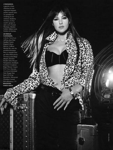 monica bellucci wallpaper called Madame Figaro Magazine
