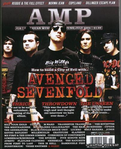 Avenged Sevenfold wallpaper called Magazine cover