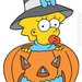Maggie's Halloween picture - maggie-simpson icon