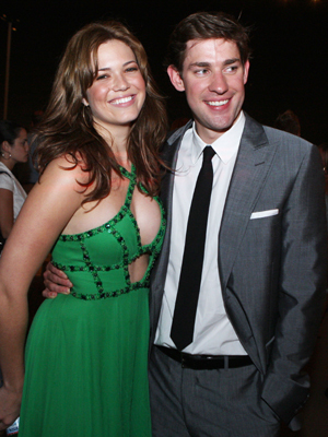 Mandy Moore and John Krasinski