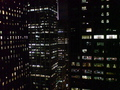 Manhattan by night - new-york wallpaper