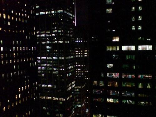 Manhattan par night