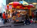 Manhattan hot dog stand