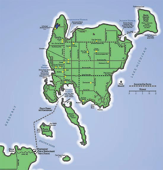 Maps - Washington Island Photo (54535) - Fanpop