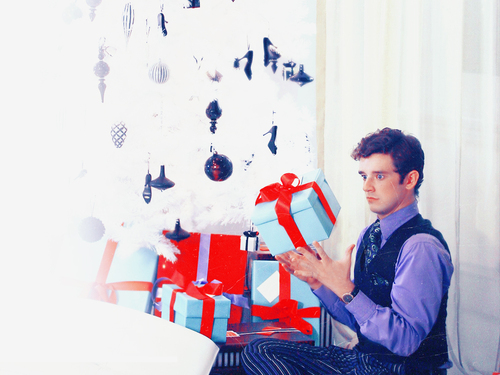Ugly Betty wallpaper called Marc xmas wallpaper